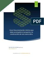 Guia practica. Documentacion minima para Proyecto y Construccion de Obras Civiles seproinca.pdf