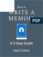 How to Write a Memoir PDF