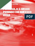 2019 F1Experiences Brochure Mexico