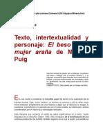 Puig - Mujer Araña Intertextualidad