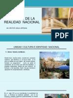 Unidad 1 Cultura e Identidad Nacional.