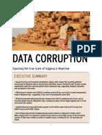 Six billion dollar timber corruption black hole revealed by official data   EIA Data Corruption
