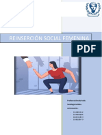 Reinserción social femenina chilena