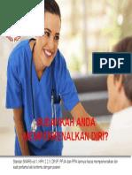 Perawat memperkenalkan diri