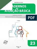 3- Cadernos de Atenção Básica - Saúde da Criança - Aleitamento Materno e Alimentação Complementar.pdf