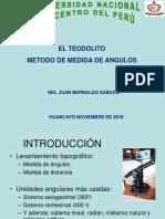 6. Teodolito Metodo de Medida de Angulos y Areas
