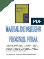 Cafferata Nores, Jose - Derecho Procesal Penal