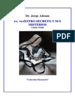Jorge Adoum El Maestro Secreto