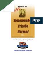 Testemunho Cristão normal - Watchman Nee.pdf