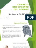 Sentencia T 611 2013