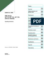 HMI device OP 73, OP 77A, OP 77B.pdf