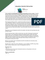 Arkadia Digital Media Tbk Financial Report