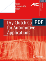 (Advances in industrial control) Pietro J. Dolcini, Carlos Canudas de Wit, Hubert Béchart (auth.) - Dry clutch control for automotive applications-Springer-Verlag London (2010).pdf