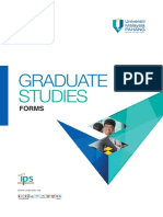 1 Booklet for New Postgraduate Student