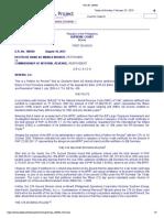 Deutsche Bank AG Manila Branch vs. CIR
