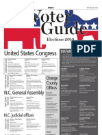 Elections 2010 voter guide
