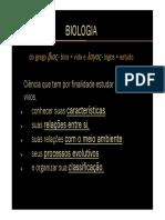 Aula Inicial de Biologia Parte 1 - Ricardo Ciqueto Gargiulo