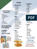 Brosur Leaflet Koperasi