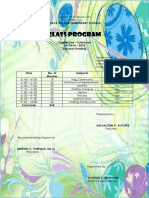 Class Program-2nd Grading