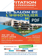Salon Immobilier Neuf Invitation 2019