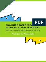Drogas - Prevenção Escolar Ao Uso de Drogas