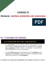 Presentacion de Morfosintaxis.