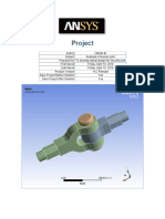 Ansys Report of Knuckle Joint