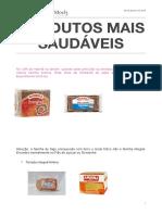 Produtos mais saudáveis para dia a dia .pdf