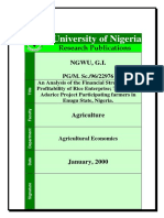 An Analysis of the Financial Structure and Profitability of Rice Enterprise; The case of Adarice Project Participating farmers in Enugu State, Nigeria..pdf