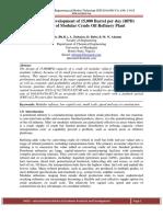 Design and development of 15ooobpd modular refinery