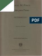 Manuel María Ponce -Intermezzo No.3