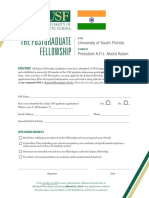Kalam Fellowship Form 201819