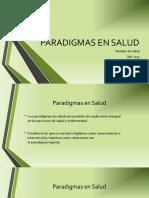 Paradigmas en Salud