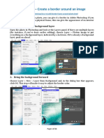 Photoshop – Create a Border Around an Image