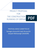 Orphanage Project Proposal