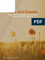 Advice about Ruqqiyah
