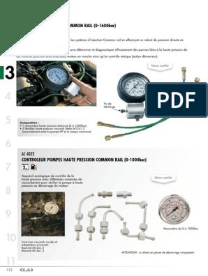 Extracteur blocage outil pompe à injection HYUNDAI KIA CRDi