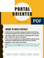 Portal Oriented