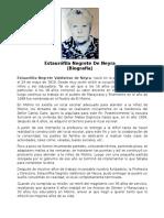 Biografía Reseña Historica Estaurofila Negrete