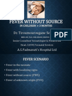 Fever Without Source
