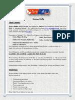 Travel Channel Faremakers Company Profile