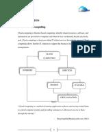 Report on Cloud Computing
