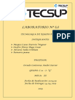 LABORATORIO Nº2 informe de tecnologia  de equipo pesado