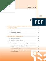 1. PARTES DE LA ESTRUCTURA Y SU FUNCIÓN... 1 2. CIMENTACIÓN... 2. 3.3. Diversos aspectos sobre el muro de carga... 11.pdf
