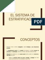 El Sistema de Estratificacion