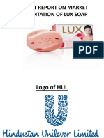 Project Report on Mkt Segmentation of Lux Soap