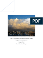 Mohammed Faisal. Living on a crowded island Urban transformation in the Maldives.pdf