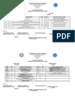 School Calendar of ACTIVITIES 2018 2019 Jb