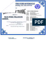 Training Certificate Auto2
