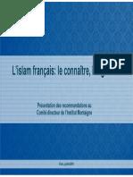 Islam Presentation Comite Directeur Im